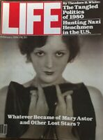 1980 FEBRUARY LIFE MAGAZINE - MARY ASTOR - HENCHMEN IN THE U. S. - L 1890