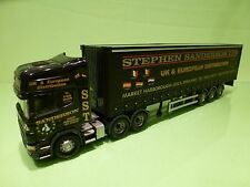 CORGI TOYS SCANIA 144L 530 TRUCK + TRAILER - STEPHEN SANDERSON  LTD - 1:50 GOOD