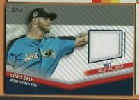 2020 Topps Baseball - Relic Card - Chris Sale - Boston Red Sox