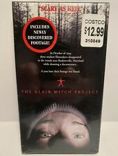 New Sealed The Blair Witch Project Vhs 1999 Includes Newly Discovered Footage!