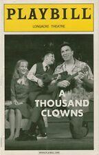 A THOUSAND CLOWNS PLAYBILL Tom Selleck, Barbara Garrick, Mark Blum BROADWAY