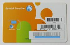 Lot Of 100 At&T Micro Sim Cards 4G Lte