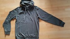 QS s.Oliver Sweatshirt Pullover Hoodie grün khaki Kordel Schalkragen S 44  w Neu