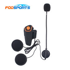 1000m 3 pilotos BT-S2 Bluetooth Casco de Moto Intercomunicador Interphone Auriculares FM