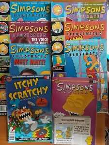 The Simpsons illustrated Comics -Vintage 1991- 1993
