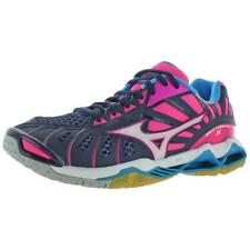 Mizuno Womens Wave Tornado X Lace-Up Low-Top Volleyball Shoes Sneakers BHFO 0559