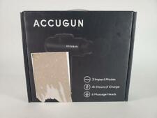 Accugun Pro (6 multi-use attachments with 3 impact modes) Used