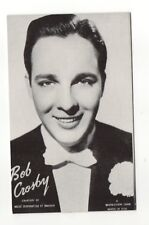 Bob Crosby 1940's-50's Mutoscope Music Corp of America Arcade Card Postcard