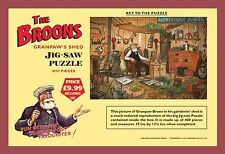 The Broons' Jigsaw Puzzle - Granpaw's Shed (Jigsaw), The Broons, SEALED zb