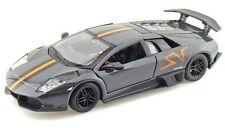 "Bburago Lamborghini Murcielago LP 670-4 SV 1:24 diecast 8"" model car Gray B04"