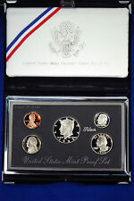 1992-s Premier SILVER Proof Set. Coins in Mint Made Custom Display Box