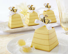 24 Sweet As Can Bee Mom and Baby Beehive Baby Shower Favor Boxes