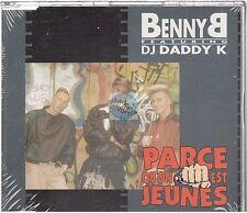 BENNY B parce qu'on est jeunes CD MAXI NEUF new
