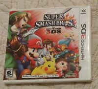 Super Smash Bros. Brothers (Nintendo 3DS) XL 2DS Game w/Case & Manual