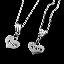 Aunt necklace and niece necklace set. 2 necklaces Niece necklace I love my aunt