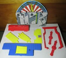 1980's DC Super Powers Hall of Justice Playset Parts & Pieces Lot Kenner