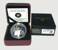 2012 $20 Holiday Cristal Coin: The Three Wise Men #120100
