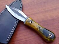 Custom Handmade high carbon1095 Hunting dagger knife with razion handle 067