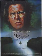 THE MOSQUITO COAST Movie POSTER 27x40 B Harrison Ford Helen Mirren River Phoenix