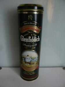 "BOITE COLLECTION METALLIQUE WHISKY ""GLENFIDDICH"" pure malt"