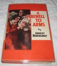 PRISTINE early HB Original DJ Farewell to Arms Ernest Hemingway Grosset & Dunlap