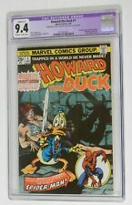 HOWARD THE DUCK #1 -CGC Restored Graded 9.4 Off-White To White Pages Marvel 1976