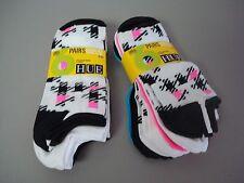 NWT USA Made Hue Women's Microfiber Liner Socks One Size Multi 12 Pair #723J