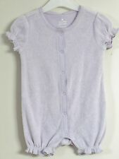 babyGAP Size 6-12 Months Classic Lavender Short Sleeve Snap Crotch Bodysuit