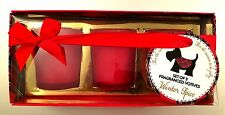Christmas Spice 3 Candles In Gift Box Home Decor Fragrance Candle Ideal Gift