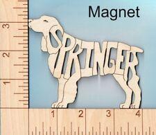 English Springer Spaniel Dog laser cut wood Magnet Great Gift Idea