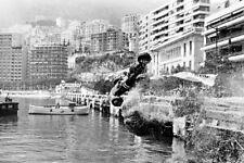 Grand Prix Formula 1 One Race Car Crash Monaco  8x10 Picture Celebrity Print