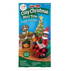 Scout Elves at Play® Cozy Christmas Story Time ( Elf Not Included)