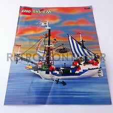 LEGO Istruzioni Originali - Instructions - 6280 - Armada Flagship (1996)