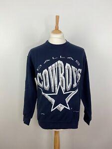 Vintage 1994 Dallas Cowboy Men's Sweater NFL Nutmeg Mills USA Team all - Size M