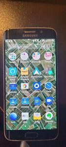 Samsung Galaxy S6 EDGE SM-G925T - 128 GB - Black (Unlocked, READ) Smartphone
