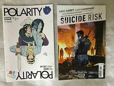 POLARITY 1 2nd PRINT VARIANT MAX BEMIS Say Anything Boom Studios RARE HOT