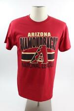ARIZONA DIAMONDBACKS Crew T-Shirt MLB Baseball Adult Medium Red