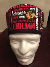 Chicago Blackhawks NHL Men's Surgical Scrub Hat - Skull Cap
