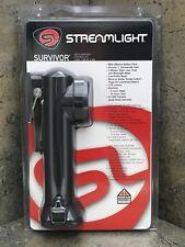 Streamlight Survivor LED Flashlight 90545 Black 175 Lumens Alkaline Model