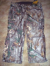 Mens 3X Camo Pants Scent Control Hunting Pants Realtree Browning $150 Windproof