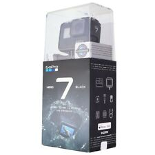 GoPro Hero7 Black 4K60 Waterproof Action Camera (CHDHX-701)