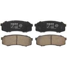 Disc Brake Pad Set Rear Federated D606C