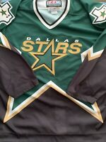 Dallas Stars CCM Center Ice blank Vintage NHL Authentic 52