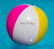 Aufblasbarer Wasserball 4-färbig ~61 cm Durchmesser