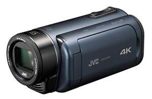 JVC video camera Everio R 4K shooting Deep Ocean Blue GZ-RY980-A