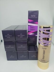 Tarte Face Tape Foundation Makeup - CHOOSE SHADE *read