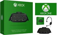 Genuine Official Microsoft Xbox One Chatpad + Chat Headset New & Sealed