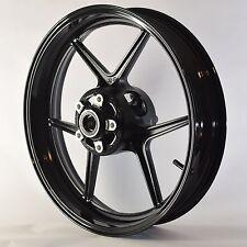 NEW GLOSS BLACK Front Wheel ZX6R 2005-2012 ZX10R 2006-2010 636 Rim 2008 2007 09