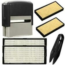 Personalized Rubber Stamp Self inking Name Business Address Garage School DIY AU