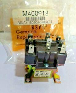 RSPC M400912 Relay 120/50-60 DPDT-T For Huebsch Drier